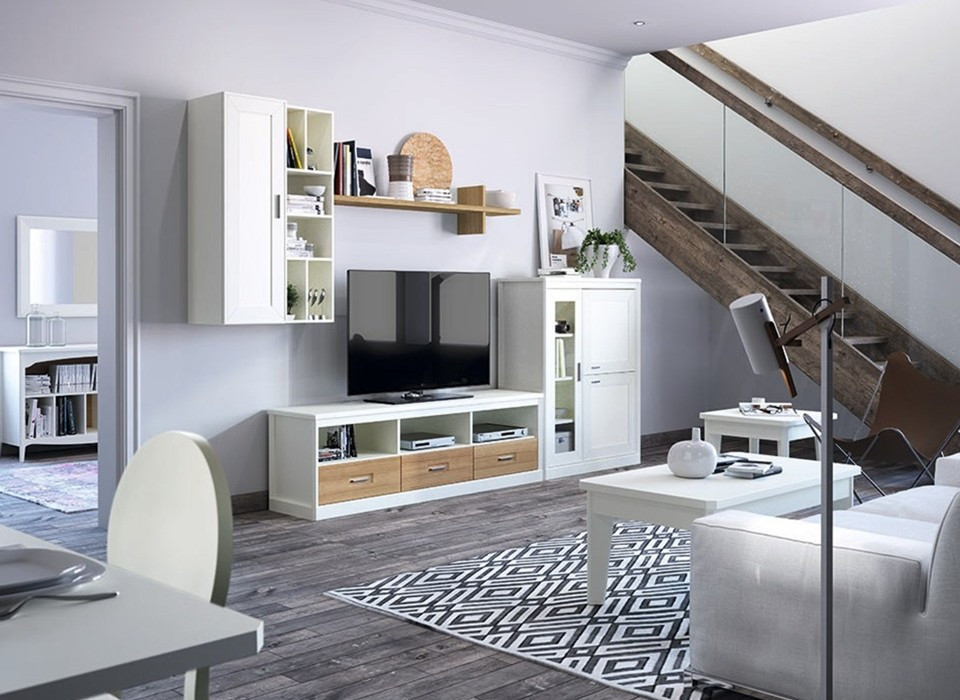 Decoraciones de salones en colores blancos a decorar mi casa - Mi casa decoraciones ...