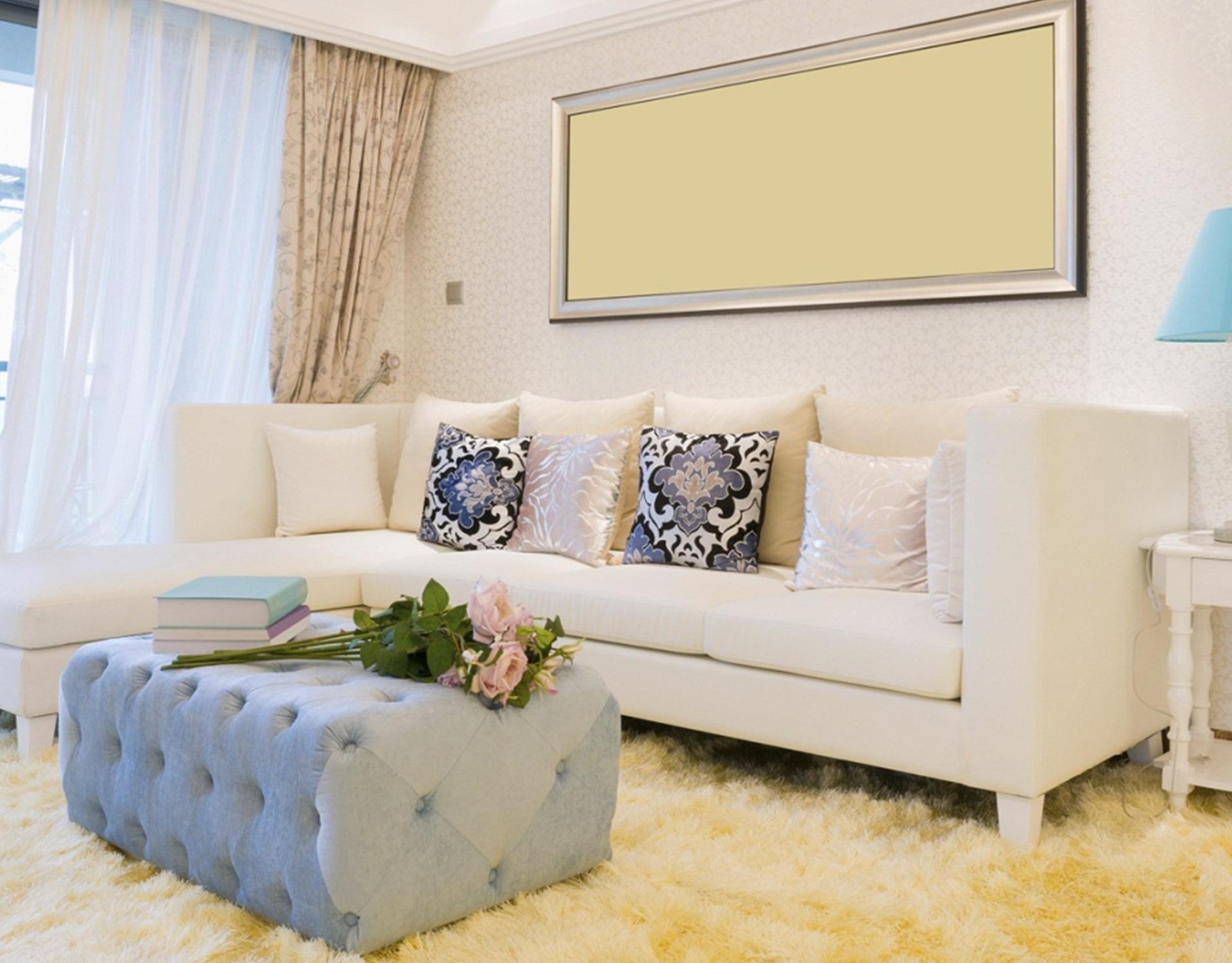 decoración romántica para tu sala de estar