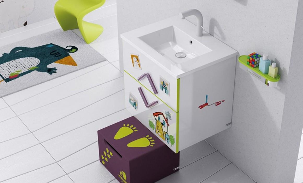 Tres ideas para decorar un cuarto de ba o infantil a for Banos para banarse
