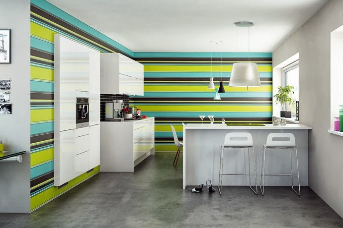 decorar-pared-de-cocina-con-franjas